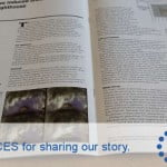 Thank you ICES for the excellent coverage in the Civil Engineering Surveyor journal