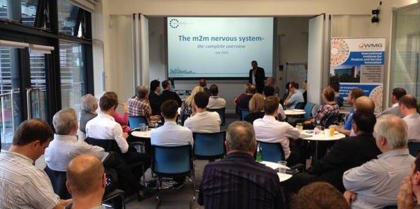 Caption Data talks at IoT Midlands