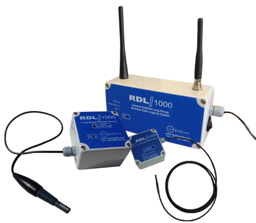 RDL1000base with two sensors transparent