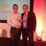 Innovation of the year award given to Jonathan Penn and Paul Sanders at BDMA conference