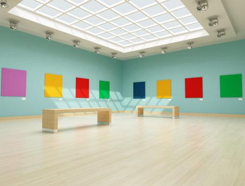 non destructive monitoring of artwork in transportation
