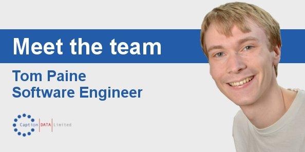 Meet Tom Pain Software Engineer Image