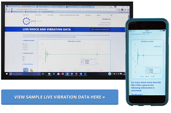 Live Construction Vibration Data with CDLSmartHub