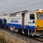 Balfour Beatty's Tamper Train Cover Image