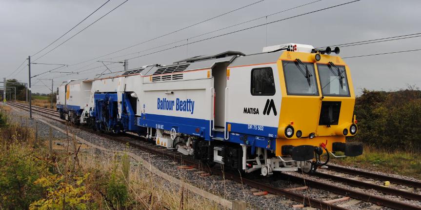 Saving vital downtime on tamping trains