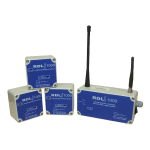 RDL1000 temperature humidity and moisture monitoring