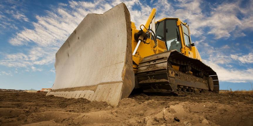 The Bulldozer on site