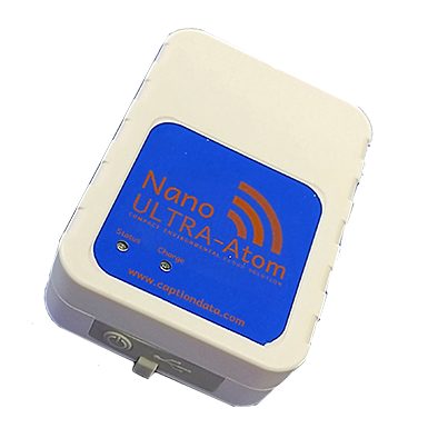 Nano ULTRA-Atom Temperature and Humidity Data Logger Sensor