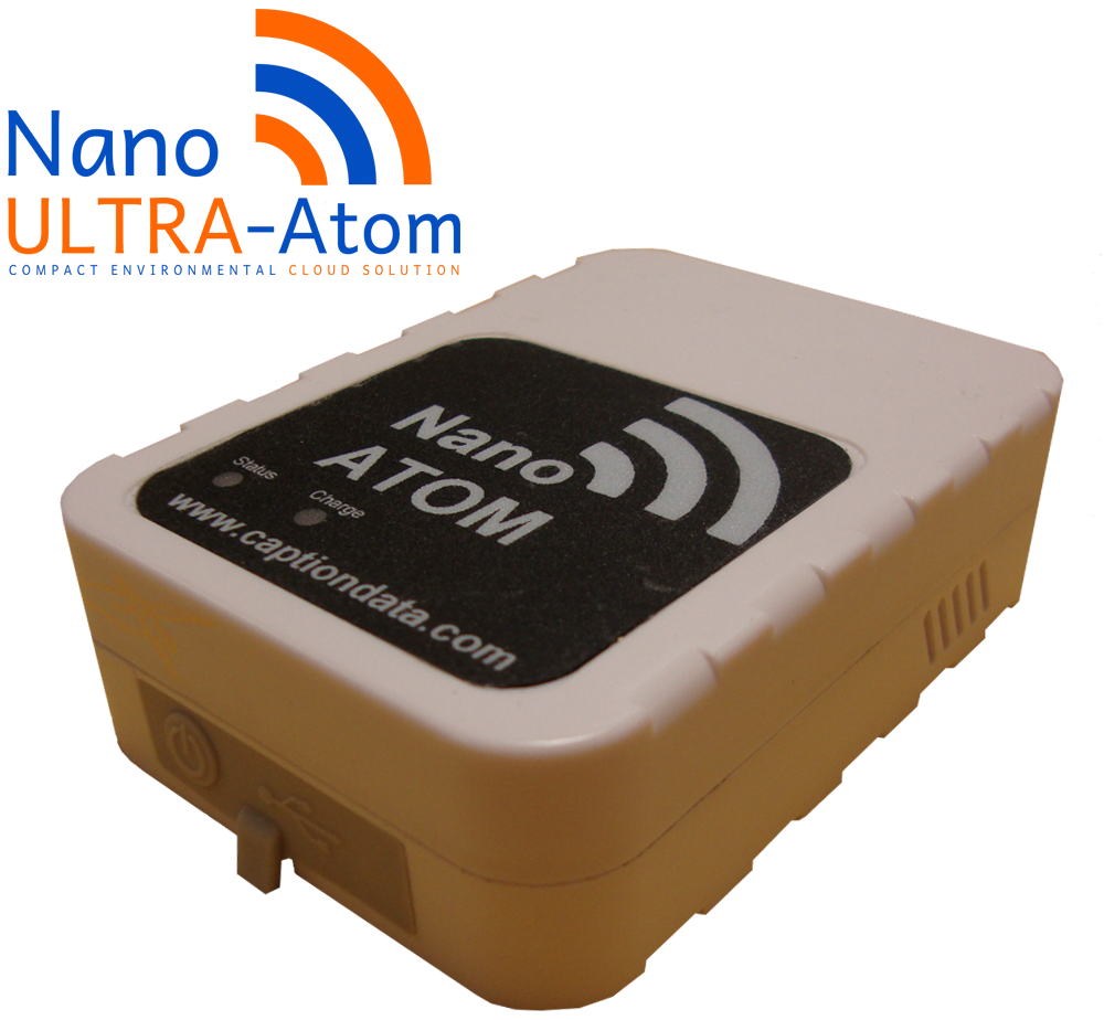 NanoUltra Atom - Temperature and Humidity Data Logger