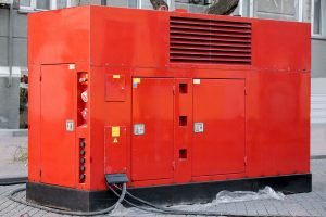 example of hire equipment, portable generator
