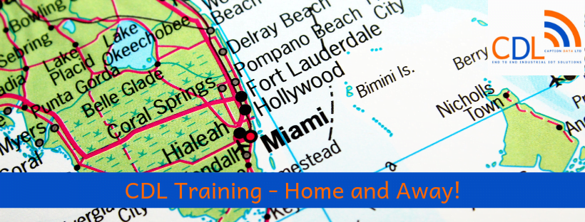 CDL Training – we deliver it both home and away!