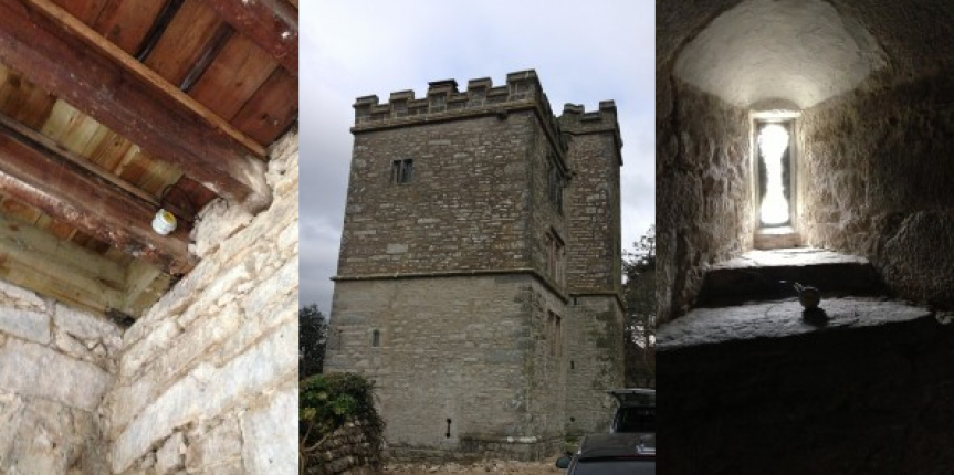 Environmental monitoring at notoriously haunted castle in Cornwall